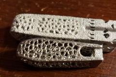 Titanium 3D Printed Lumbar Interbody Cage